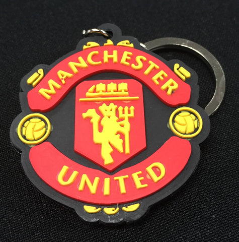 Manchester United F.C. Rubber Key Ring