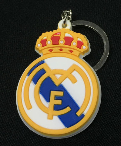 Real Madrid C.F. Rubber Key Ring