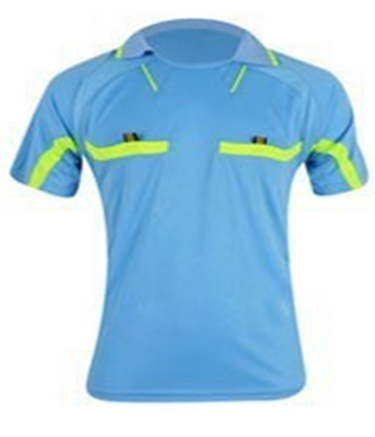 Sky Blue Referee Shirt & Shorts Set