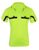 Fluro Yellow Referee Shirt & Shorts Set