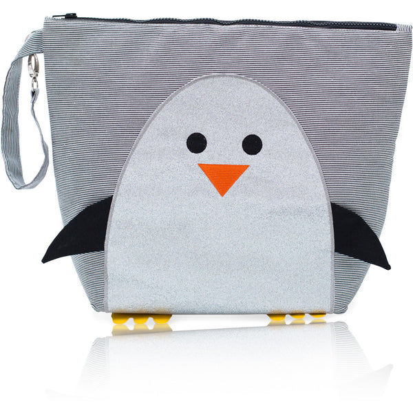 bb0570b6d8 Forever Young Wet + Dry Backpack (Small) - Glitter Silver Penguin