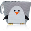 "Forever Young Wet + Dry Backpack (Small) - Glitter Silver Penguin ""Chili"""