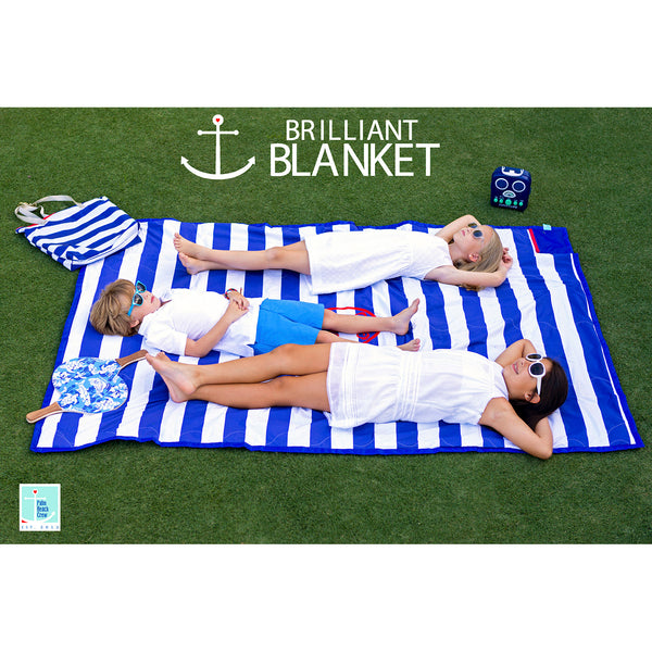 561c908679 Brilliant Blanket  Cabana Collection - Cabana Blue – Nikiani
