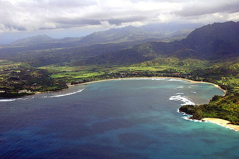 Hanalei Bay Adventure Travel Surf Spot Hawaii