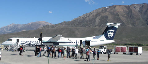 Mammoth mountain Alaska airlines