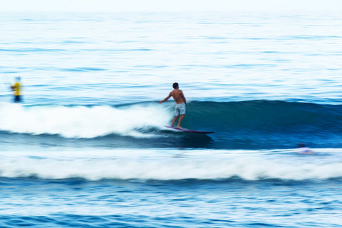 Josh Hall Surfing