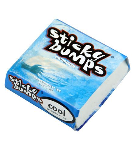 Sticky Bumps Surf Wax by West Path Cool water