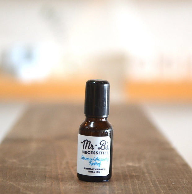 Aromatherapy Roll-Ons: Stress / Anxiety Relief Essential Oils Mr. B's