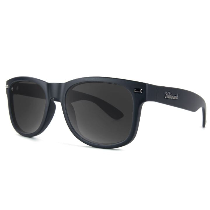Matte Black Sunglasses - Polarized Sunglasses Knockaround