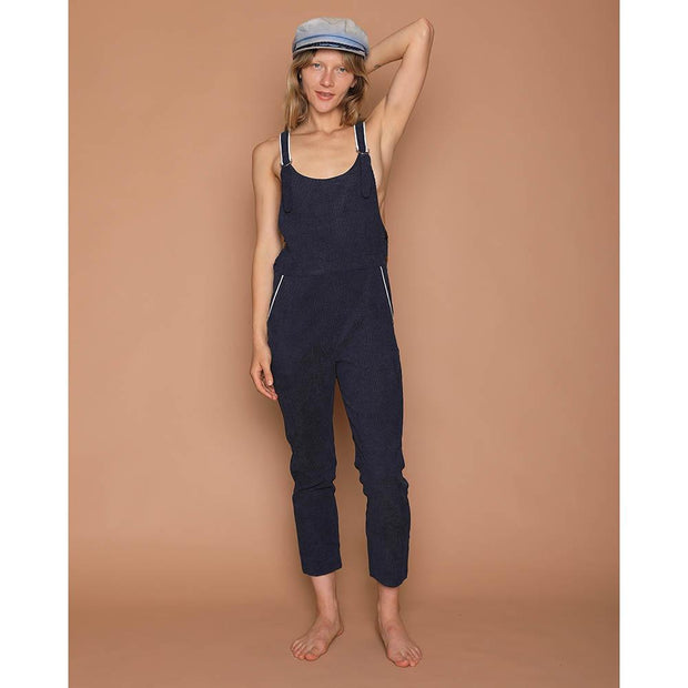 Corduroy Overalls - Blue Jumpsuits Camp Collection