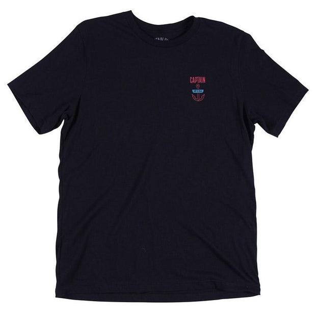 Graphic Surf T Shirt - Black T-Shirts Captain Fin