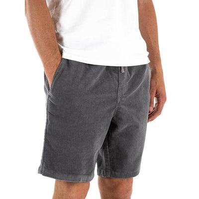 Cord Patio Short in Graphite Shorts Katin
