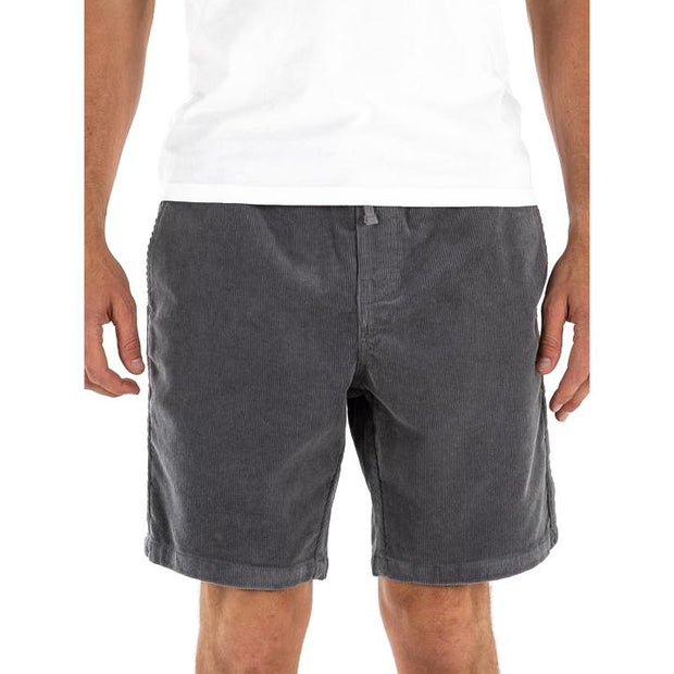 Cord Patio Short in Graphite Shorts Katin M