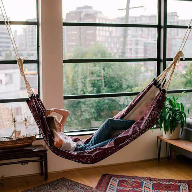 hammock with persian print