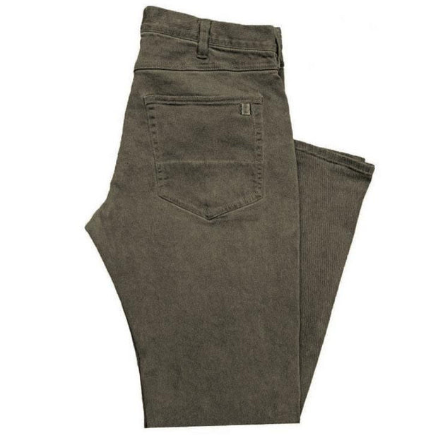 Straight Fit Pant Olive Brown Pants Captain Fin