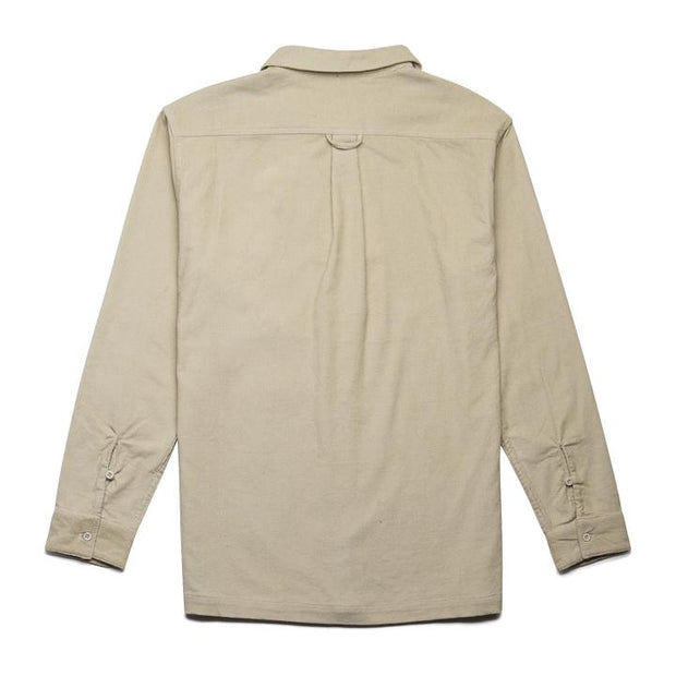 Rhythm button down shirt natural