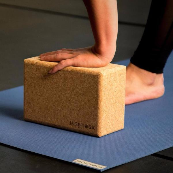 Jade Cork Yoga Blocks - Sustainably Sourced Yoga Accessories JadeYoga