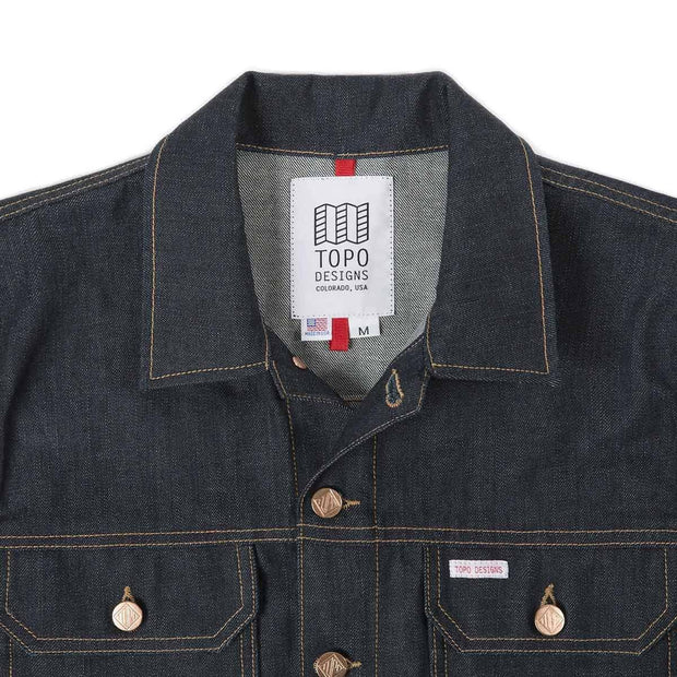 mens denim jacket topo designs