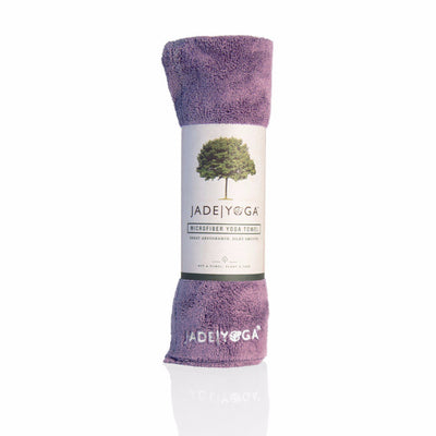 Jade Yoga Mat Towel - Lavender Towels JadeYoga Default Title