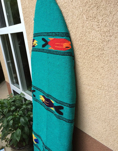 green mexican surfboard bag