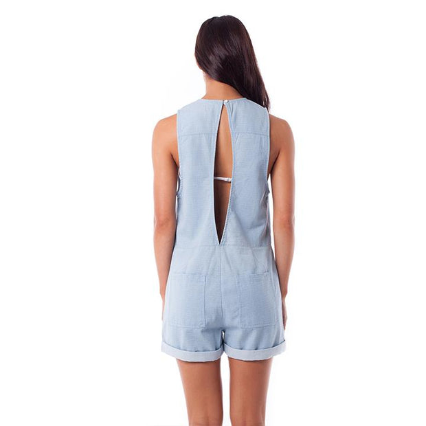 Harper Jumper - Sun Bleach Denim Jumpsuits Rhythm