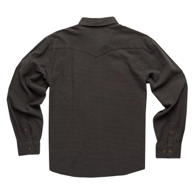 Long Sleeve Jacquard Shirt - Black Shirt Howler Bros.