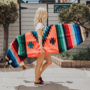 Orange Navajo Baja Surfboard bag