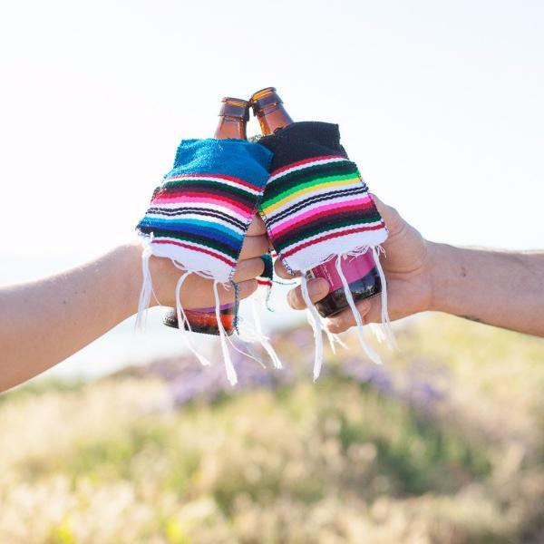 Cinco De Mayo Poncho Koozie - Set of 3 Koozies West Path