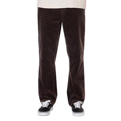 Classic 5-Pocket Corduroy Pants - Brown Pants Katin