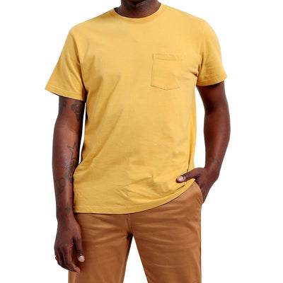 Classic Pocket T-Shirt - Gold T-Shirts Katin