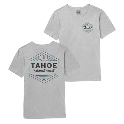 Lake Tahoe T-Shirt - Grey T-Shirts Parks Project S