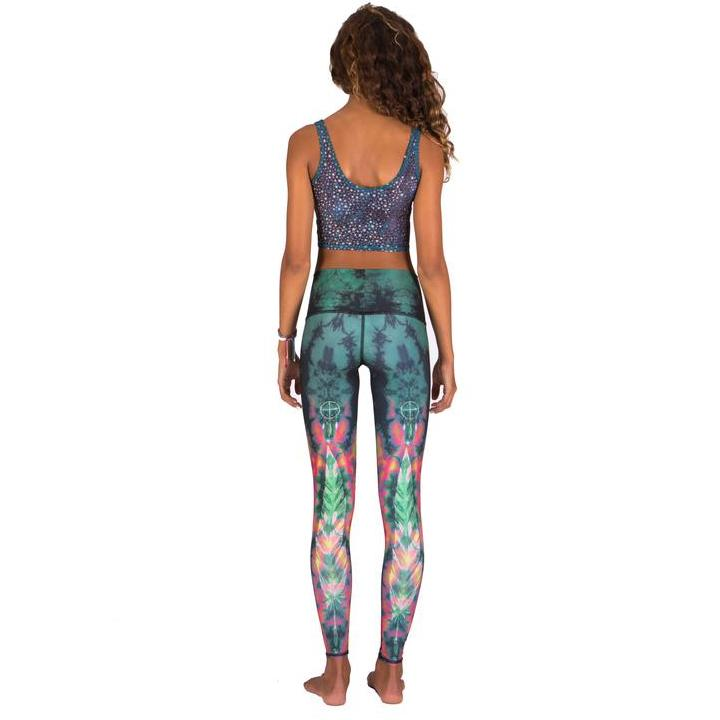 Eco Leggings - Feather Green Leggings Teeki