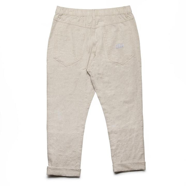 Linen Beach Pant - Bone Pants Rhythm