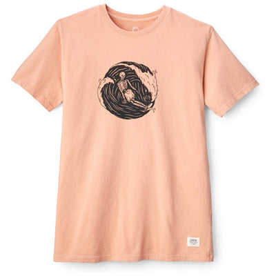 Surf Circle Tee - Cheery Blossom T-Shirts Katin