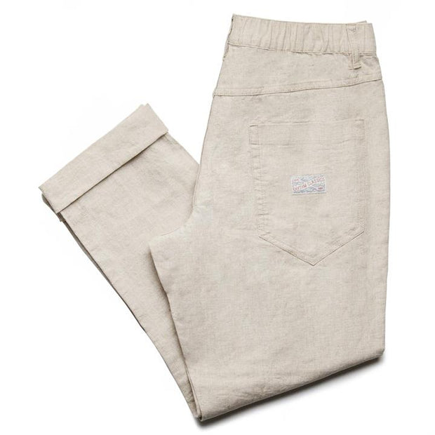 Linen Beach Pant - Bone Pants Rhythm 30