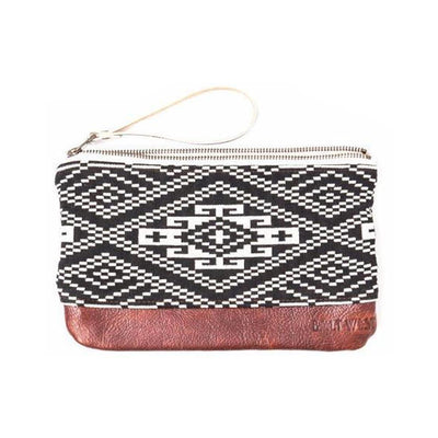 Aztec Leather Clutch Clutches & Pouches Bolt West