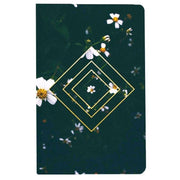 Emerald Floral Layflat Journal Notebooks & Journals Denik