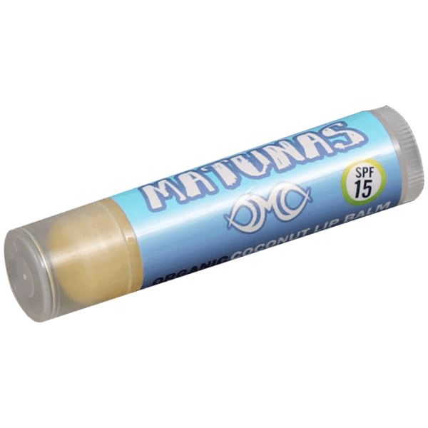 Matunas Organic Lip Balm with SPF 15 - Coconut Sunscreens Matunas