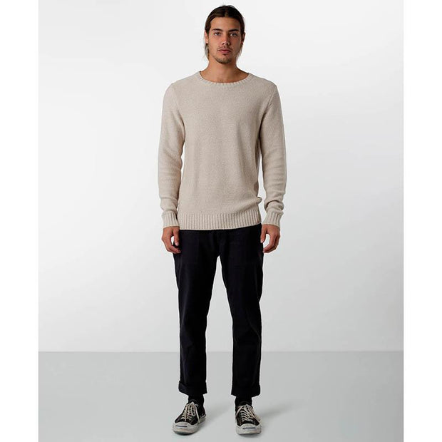 Rhythm men's sweater off white