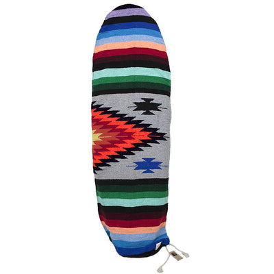 Heather Grey Baja Aztec SurfBoard Bag Baja Surfboard Bag West Path
