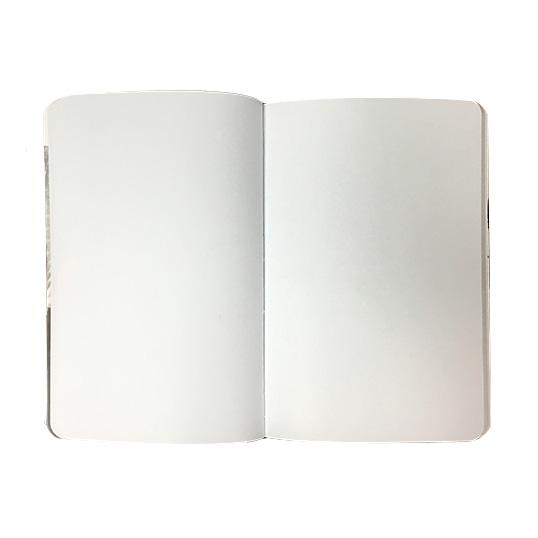 Blank pages 5x8 journal