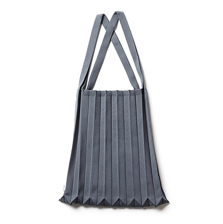Pleated Knit tote Bag