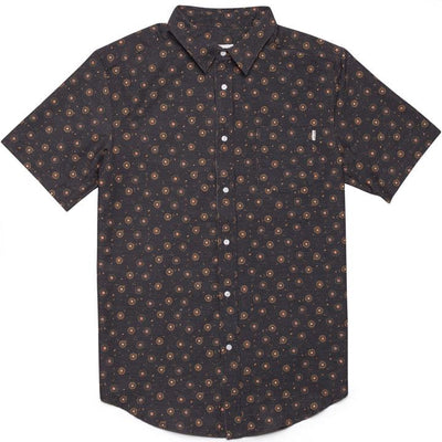 Rhythm Bengal Short Sleeve Button Up Woven Shirts Rhythm L