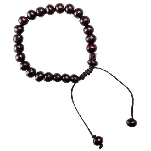 Yoga black mala bracelet meditation hippie
