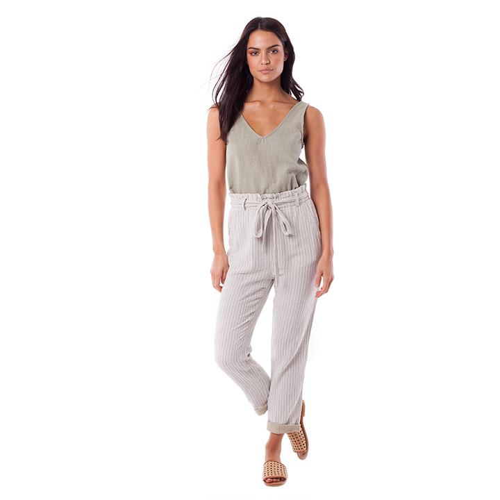 rhythm linen pants high waisted