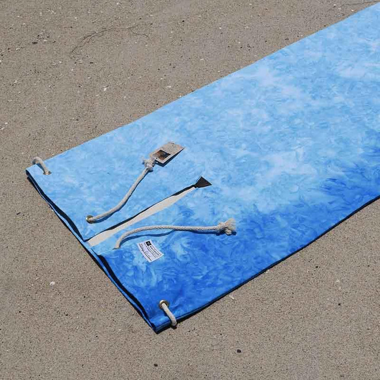 Tie Dyed Surfboard Bag - Sky Blue Travel Surfboard Bag West Path