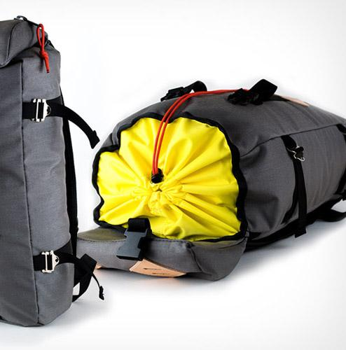 Top Loaded Daypack - Charcoal