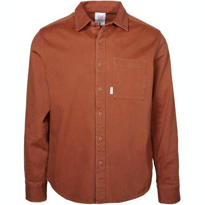 Organic Button Up - Clay Woven Shirts Topo Designs L
