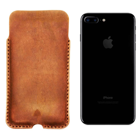 USA made Leather iPhone Sleeve