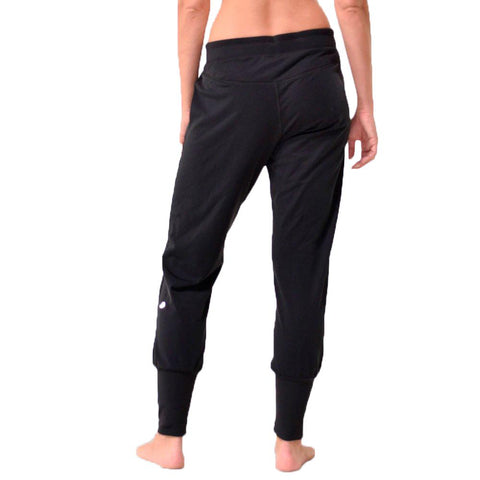 Fleeced Lined Jogger Pants - Athleisure Pants